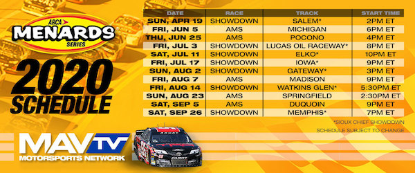 ARCA Menards Series at Phoenix Raceway